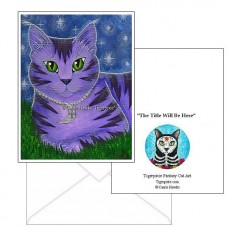 Note Card - Astra Moon Cat