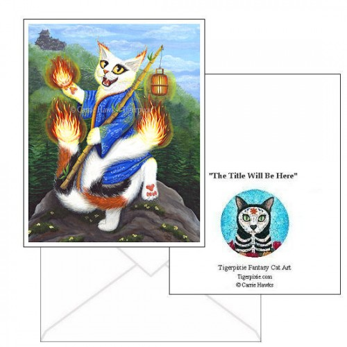 Note Card - Bakeneko Nekomata