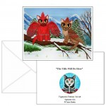 Note Card - Cardinal Cats