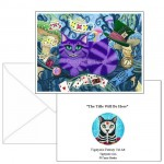 Note Card - Cheshire Cat