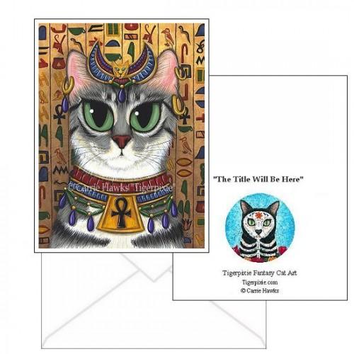 Note Card - Bast Goddess