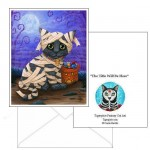 Note Card - Lil Mummy Kitten