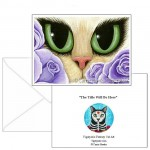 Note Card - Lavender Roses