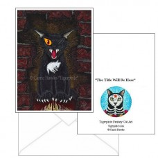 Note Card - The Black Cat