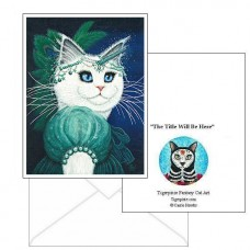 Note Card - Purrincess Isadora
