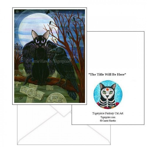 Note Card - Raven's Moon