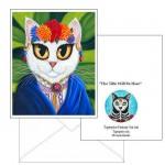 Note Card - Senorita Cat