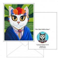 Note Card - Senorita Cat