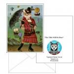 Note Card - Steampunk Cat Gal