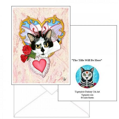 Note Card - My Feline Valentine