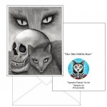 Note Card - Witch's Cat Eyes