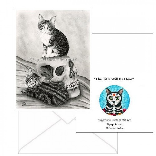 Note Card - Witch's Kittens
