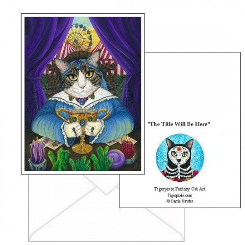 Note Card - Madame Zoe Teller of Fortunes
