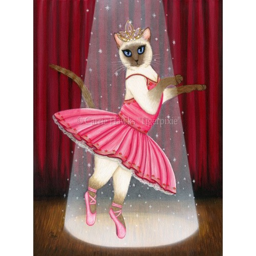 Prints - Ballerina Cat