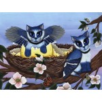 Prints - Blue Jay Kittens