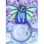 Prints - Bubble Fairy Cat