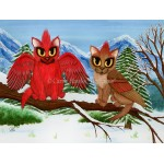 LE Canvas - Cardinal Cats