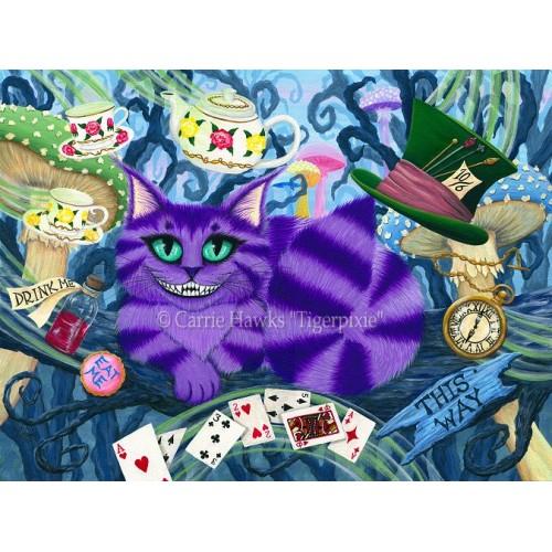 LE Canvas - Cheshire Cat