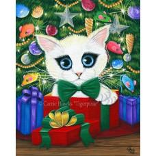 Prints - Christmas Kitten Boy