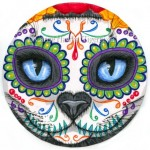 Original - Day of the Dead Cat Face 2
