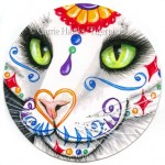 Original - Day of the Dead Cat Face 4