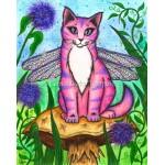 Prints - Dea Dragonfly Fairy Cat