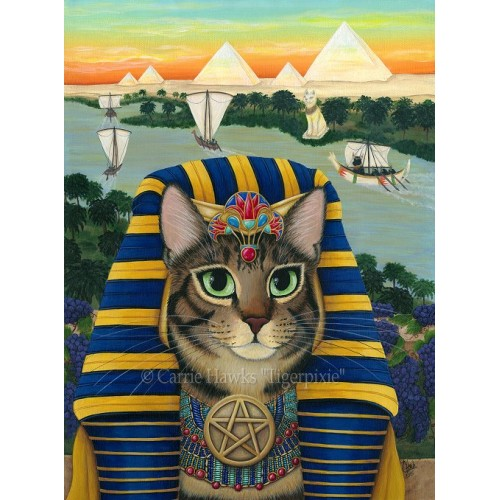 Original - Egyptian Pharaoh Cat
