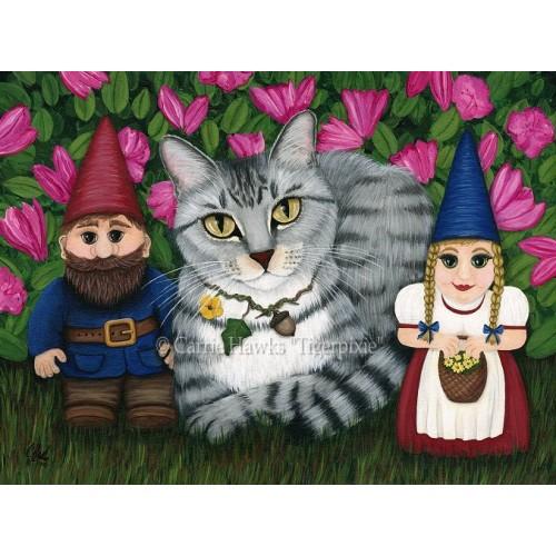 LE Canvas - Garden Friends