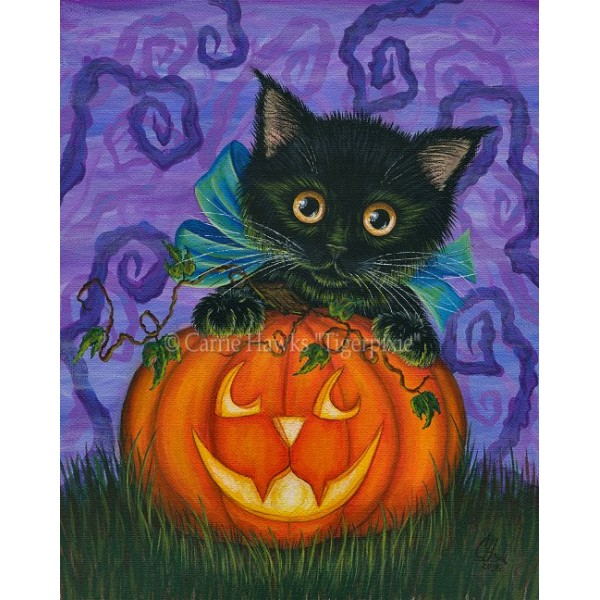 Bookmark   Halloween Black Kitty Bookmark   Halloween Black Kitty