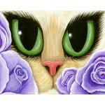 LE Canvas - Lavender Roses