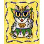 Prints - Lil Mardi Gras Cat