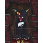 Prints - The Black Cat