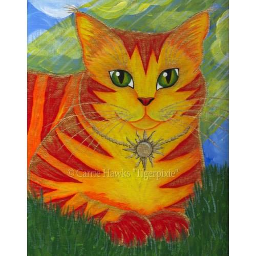 LE Canvas - Rajah Sun Cat