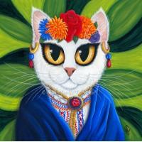 Tigerpixie Update! New Art Senorita Cat, La Bodega Gallery Show, Pins, Patreon Perks!