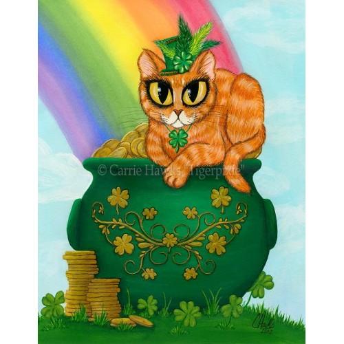 Prints - St. Paddy's Day Cat