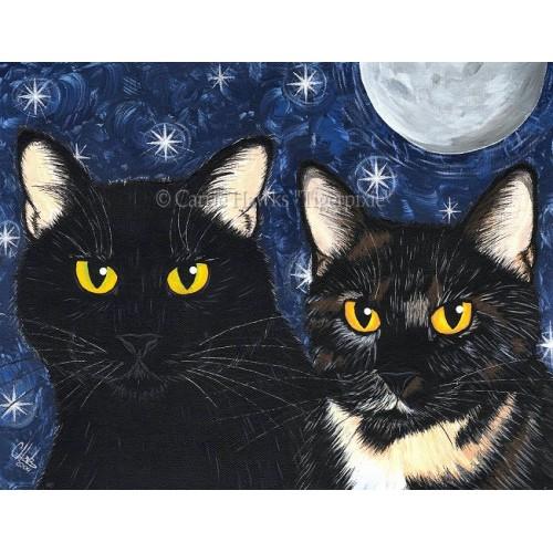 LE Canvas - Strangeling's Felines