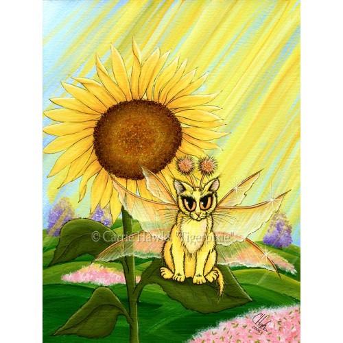 Prints - Summer Sunshine Fairy Cat
