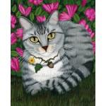 Prints - Garden Cat
