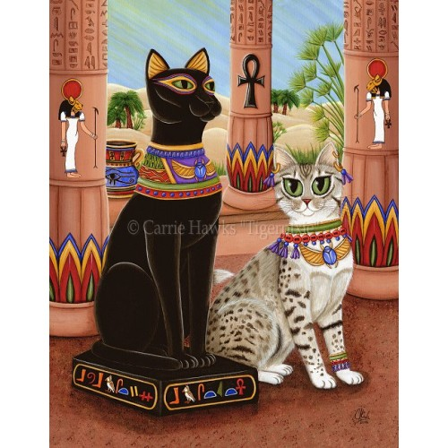 LE Canvas - Temple of Bastet