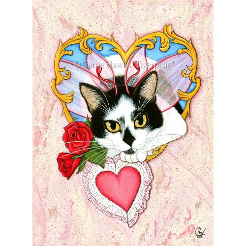 LE Canvas - My Feline Valentine