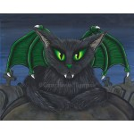 Prints - Bela Vampire Cat