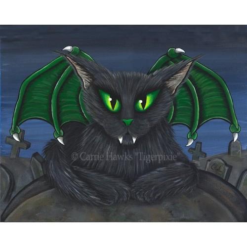 LE Canvas - Bela Vampire Cat