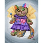 Prints - Voodoo Empress Fairy Cat Doll