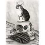 Prints - Witch's Kittens