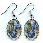 Earrings - Atlantean Mercat
