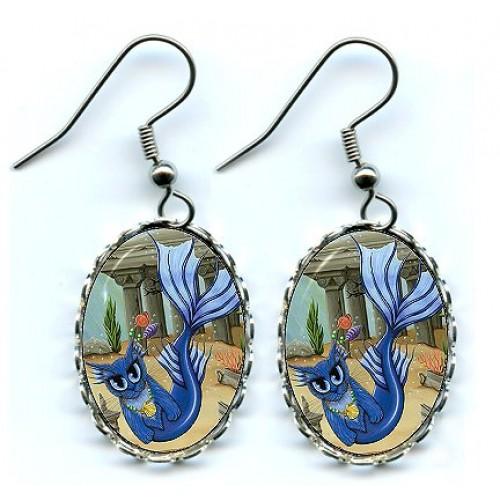 Earrings - Atlantean Mercat