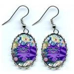 Earrings - Cheshire Cat