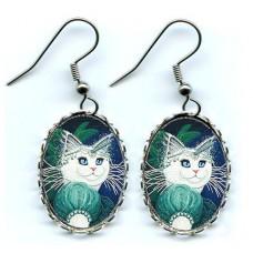 Earrings - Purrincess Isadora