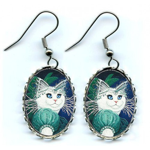 Earrings - Purrincess Isadora