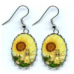Earrings - Summer Sunshine Fairy Cat